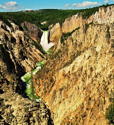 Photograph - Yellowstone Grand Canyon by Greg Norrell