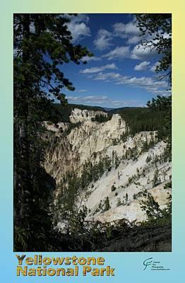 Yellowstone Np 007 Art Print by Charles Fox