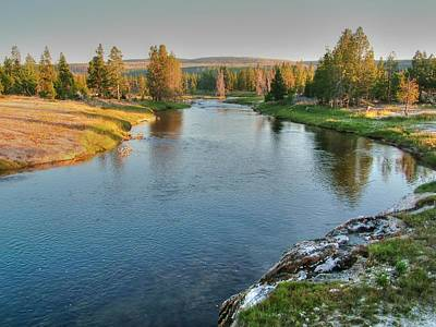 Photograph - Yellowstone River by Ken Smith