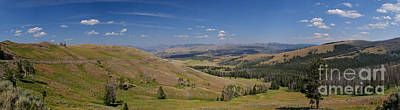 Photograph - Yellowstone Valley Panoramic by Charles Kozierok