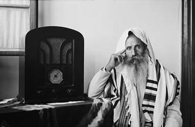 Yemenite Rabbi, In Traditional Robes Art Print by Everett