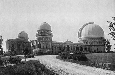 Telescope Dome Photograph - Yerkes Observatory, Wisconsin by Science Source