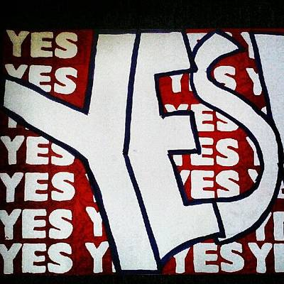 Wrestling Wall Art - Photograph - #yes #danielbryan #wwe by Shawn Jones