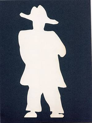Cut Out Drawing - Yes Sir Thank You Very Much by Catherine Helmick