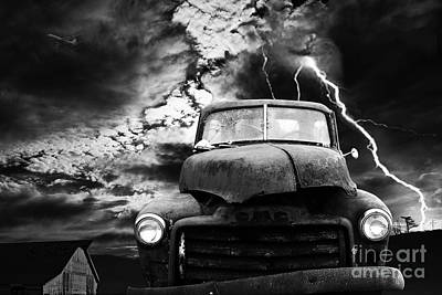 Yesterday Came Early . Tomorrow Is Almost Over . Bw Art Print by Wingsdomain Art and Photography