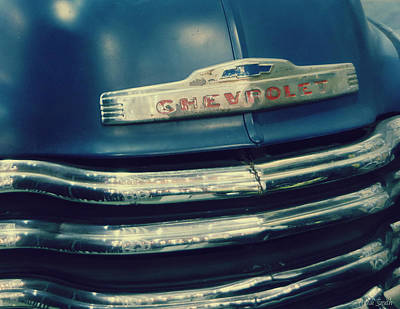 Photograph - Yesterdays Chevrolet by Heidi Smith