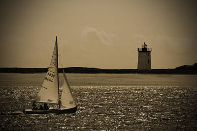 Photograph - Yesterdays Sail by Karol Livote