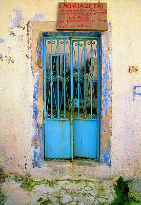 Photograph - Yesterdays Splendor-santorini by John Galbo