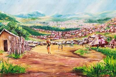 Yesteryears Art Print by Uly Ogwah