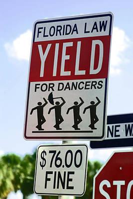 Yield For Dancers - 2 Art Print