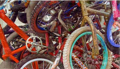 Yikes Bikes Art Print