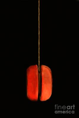 Yoyo Photograph - Yo-yo - Painterly by Wingsdomain Art and Photography