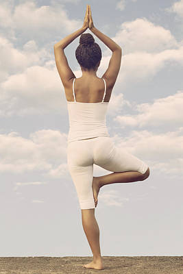 African-american Photograph - Yoga by Joana Kruse