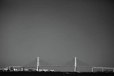 Bay Bridge Photograph - Yokohama Bay Bridge by Kiyoshi Noguchi