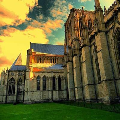 Architecture Photograph - #york #uk #england #greatbritain #great by Abdelrahman Alawwad