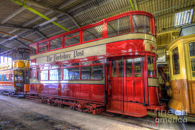 Photograph - Yorkshire Post Tram by Yhun Suarez