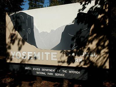 Photograph - Yosemite 0039 by Rich Berrett