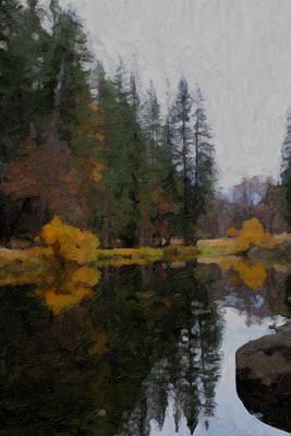 Photograph - Yosemite-0176 by Rich Berrett