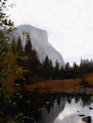 Photograph - Yosemite 0180 by Rich Berrett