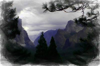Photograph - Yosemite 0181-o by Rich Berrett