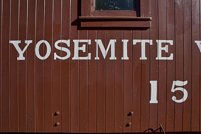 Photograph - Yosemite Caboose 15 by Gregory Scott