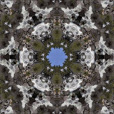 Photograph - Yosemite California Cataract Kaleidoscope by Gregory Scott