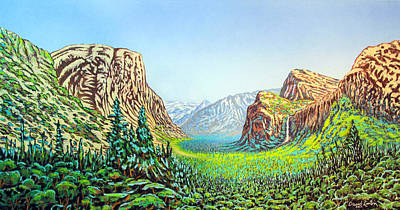 Yosemite Art Print by David Linton