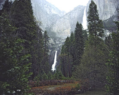 Photograph - Yosemite Falls by Bernard Lynch