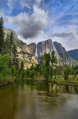 Photograph - Yosemite Falls by Lynn Bauer
