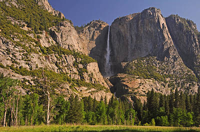 Photograph - Yosemite Fall's Spring Flow by Lynn Bauer