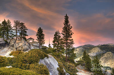 Photograph - Yosemite Glacier Point Sunset by Jim And Emily Bush
