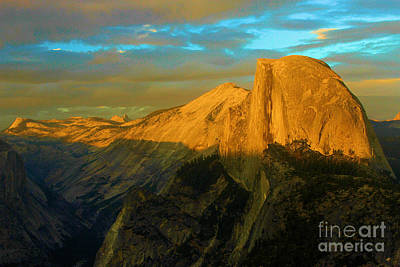 Photograph - Yosemite Golden Dome by Adam Jewell