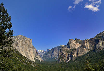 Photograph - Tunnel View Yosemite by Rima Biswas