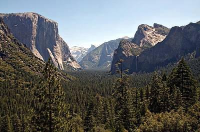 Yosemite Art Print by Tina Karle