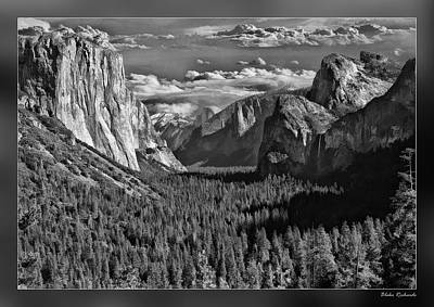 Photograph - Yosemite Tunnel View by Blake Richards