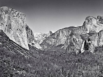 Photograph - Yosemite Valley by John Waclo