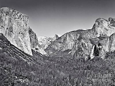 Photograph - Yosemite Valley by John Waclo