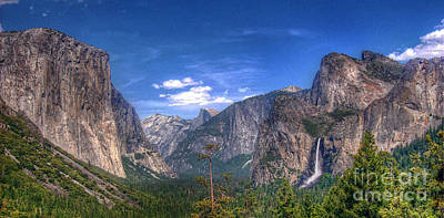 Photograph - Yosemite Valley Panorama by Morgan Wright