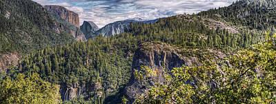 Yosemite Valley Art Print by Stephen Campbell