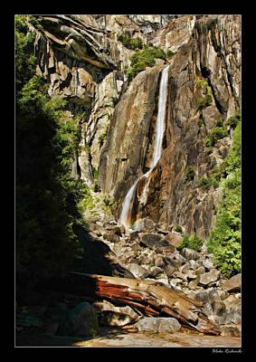Photograph - Yosemite Vernal Falls by Blake Richards