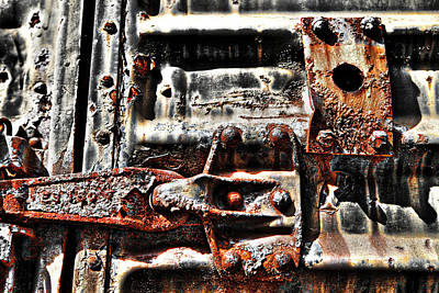Photograph - You Can't Handle The Rust by Greg Sharpe