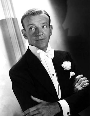 You Were Never Lovelier, Fred Astaire Art Print by Everett