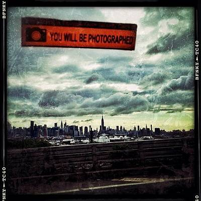 You Will Be Photographed Art Print