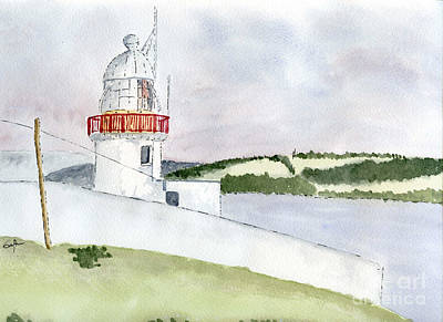 Painting - Youghal Lighthouse by Eva Ason