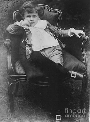 Aldous Huxley Photograph - Young Aldous Huxley, English Author by Photo Researchers