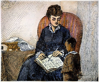 Young Frederick Douglass Art Print by Granger