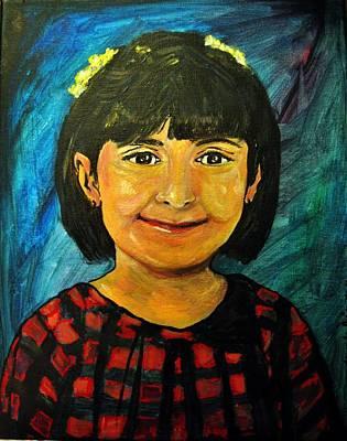 Young Girl 4 Art Print by Amanda Dinan