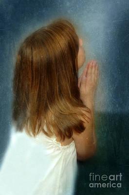 Young Girl Praying Art Print