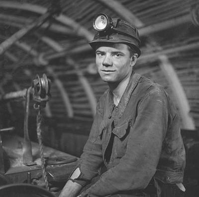 Young Miner Art Print by John Craven