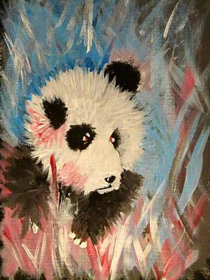 Young Panda Art Print by Hannah Stedman